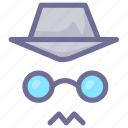 hacker, risk, spy icon