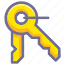 decode, key, password icon