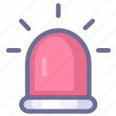 alarm, alert, warning icon