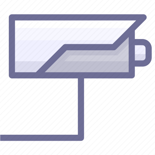 monitor, secrutiy icon