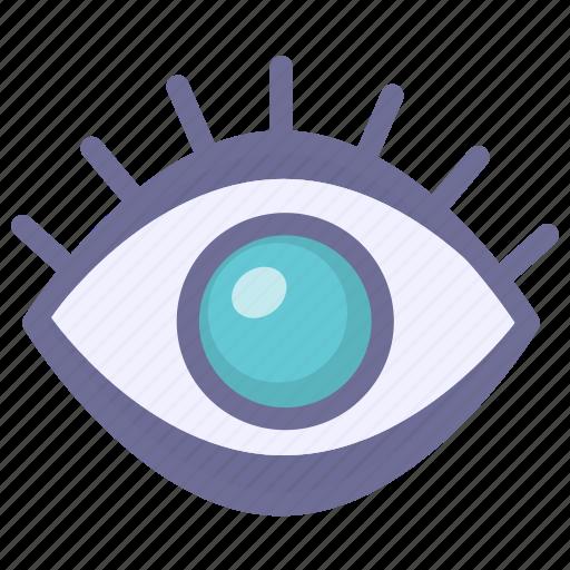 risk, see, surveillance, track icon