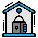 home, privacy, protection, security icon
