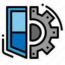 protection, security, service, setting icon