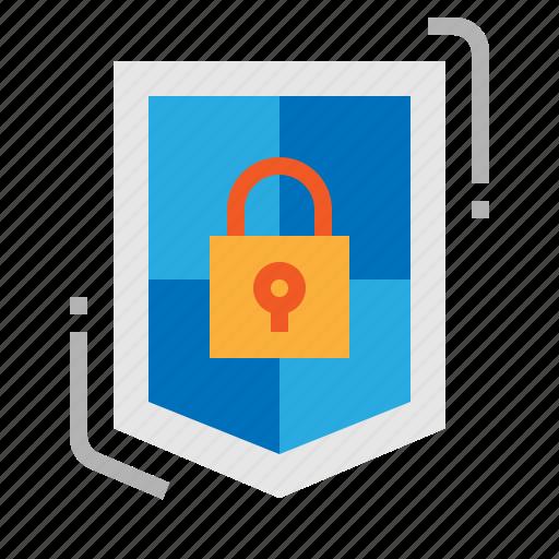 Antivirus, padlock, security, shield icon - Download on Iconfinder