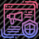 ad, adblock, adblocker, banner, on icon