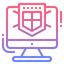 computer, protection, secure, security icon