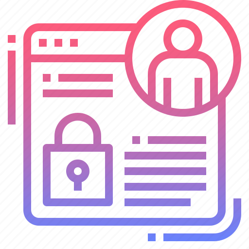 online, privacy, protection, security icon