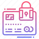 card, method, payment, security icon