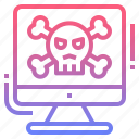 criminal, cyber, hacker, malware icon