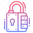 lock, padlock, protection, security icon