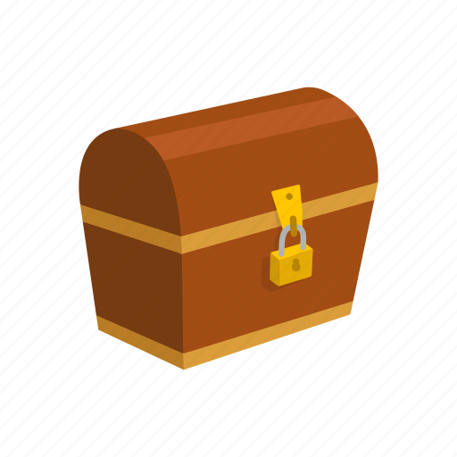 chest, locked chest, treasure, treasure chest icon