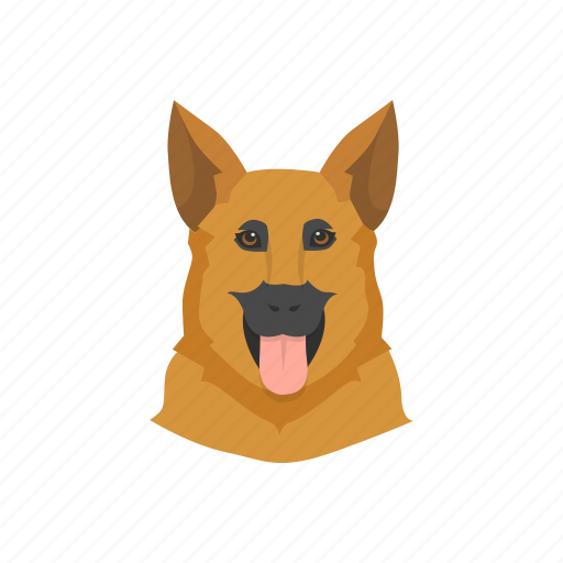 dog, k9, security, security dog icon