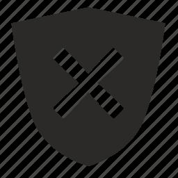 cancel, declare, delete, protection icon