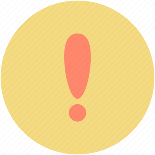 caution, error, exclamation mark, hazard, warning icon