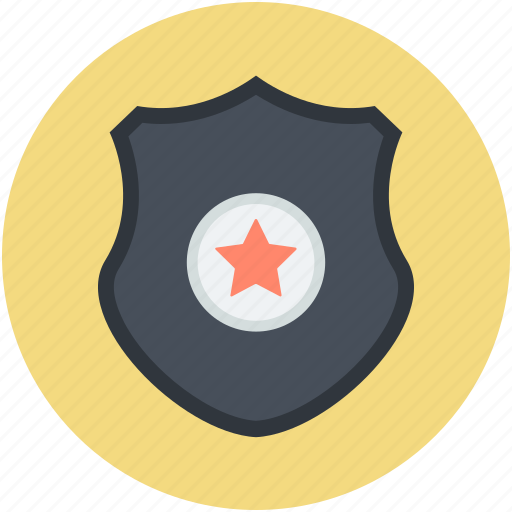 achievement, defense, guarantee symbol, star shield, success icon