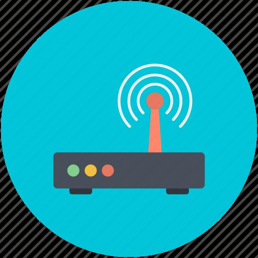 router, wifi, wifi modem, wireless network, wlan networking icon