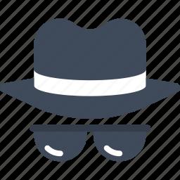 agent, guard, hacker, secret, security, spy, thief icon