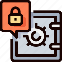bank, protection, safebox, secure, security icon