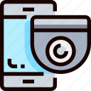 camera, online, protection, secure, security, system icon