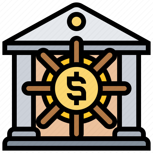 bank, financial, protection, security, vault icon