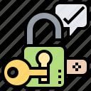 code, correct, password, security, unlock icon
