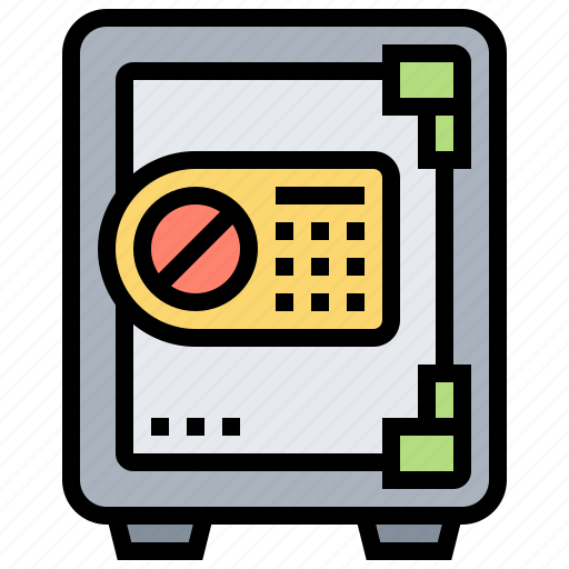 box, code, locked, protection, safety icon