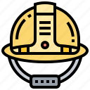 equipment, hat, head, protection, safety icon