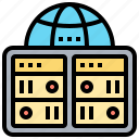 backup, database, processor, server, storage icon