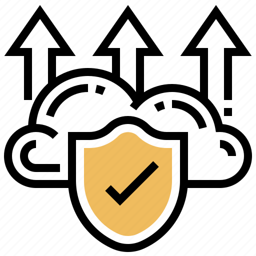 backup, data, protection, scan, upload icon