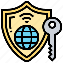 internet, key, online, protection, security