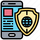 connection, online, protection, safety, scan