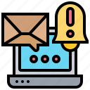 alert, mail, notification, security, spam