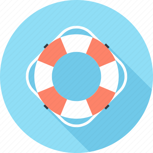 help, insurance, life, lifebuoy, ring, security, support icon