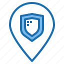 digital, location, privacy, security, shield, system, technology