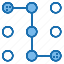 digital, lock, pattern, privacy, security, system, technology