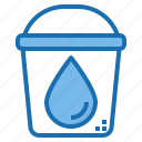 bucket, digital, privacy, security, system, technology, water