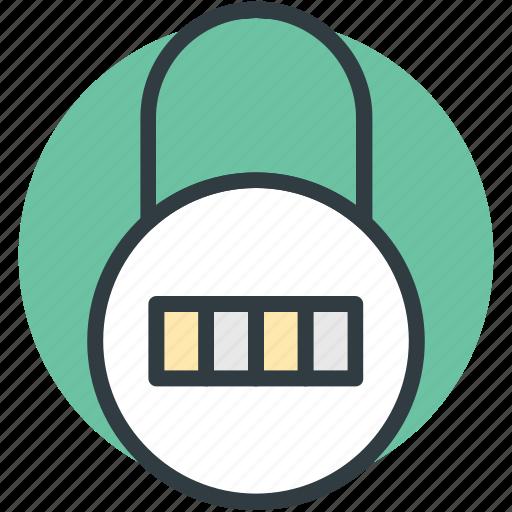 code lock, combination lock, padlock, password, security icon