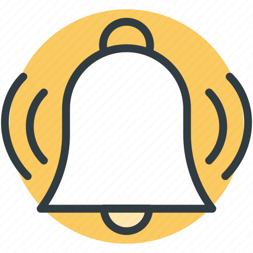 alarm bell, bell ringing, mobile ui, morning alarm, web ui icon