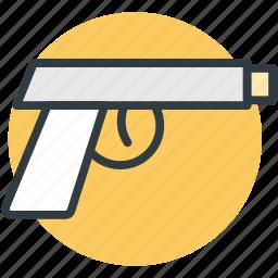 8mm pistol, firearm, gun, pistol icon