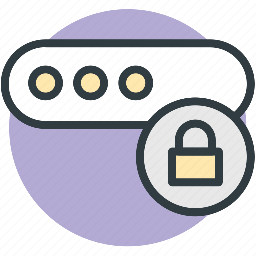 digitally lock, information password, keyword, password protection, password security icon