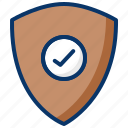 locked, protected, safe, secured, verified icon