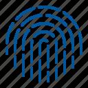 biometric, fingerprint, touch