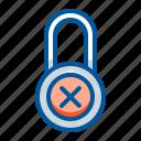 lock, padlock, secure