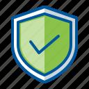 checklist, lock, protection, security, shield