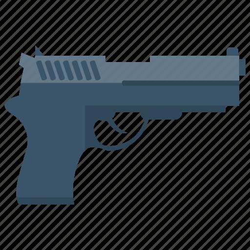 Gun, pistol, revolver, tools, weapon icon - Download on Iconfinder
