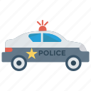car, police, protection, safety, security icon