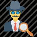 account, avatar, profile, search, user icon