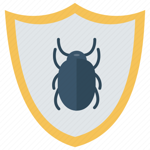 Bug, protection, security, shield, virus icon - Download on Iconfinder