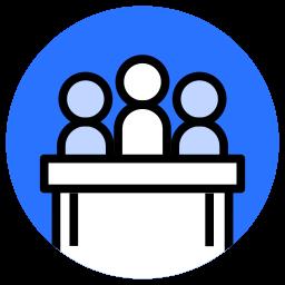 group, human, jury, law, people, team icon
