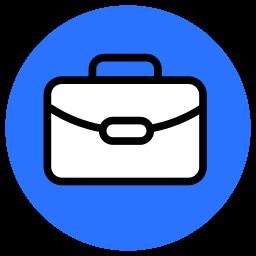 briefcase, law, luggage, suitcase icon